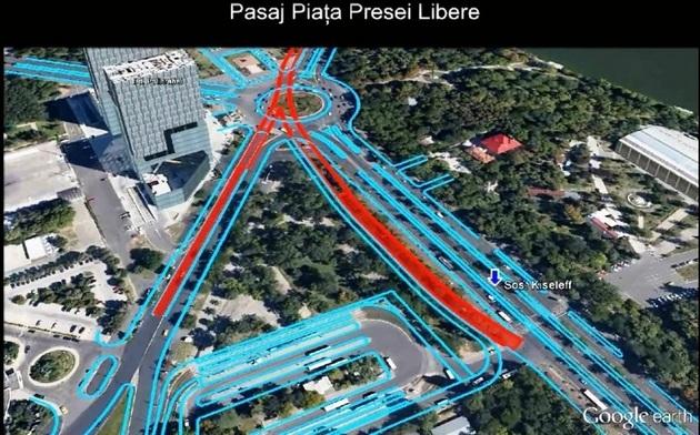 Pasajul Rutier de la Piaţa Presei a fost aprobat de consilierii municipali. Oprescu: Lucrările încep şi mâine